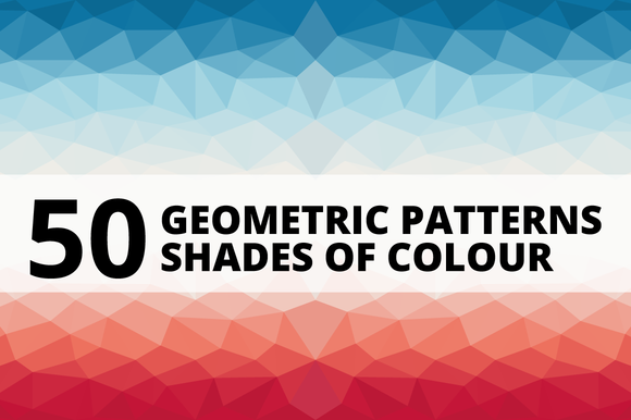 50 Geometric Patterns Color