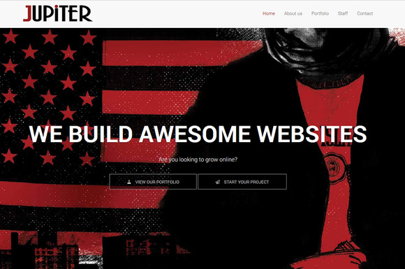 Jupiter One-page Html Template