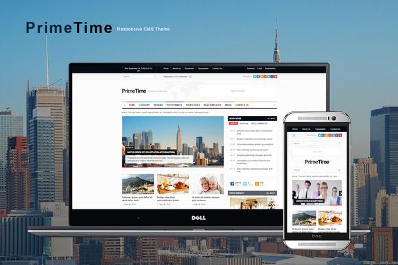 PrimeTime Magazine Blog HTML