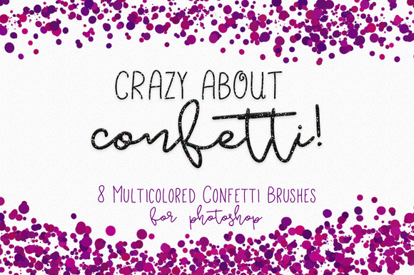 Confetti Brushes For Photoshop