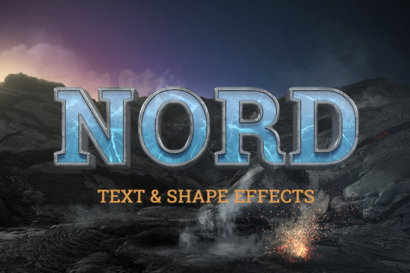 NORD Cinematic Text Logo Effects