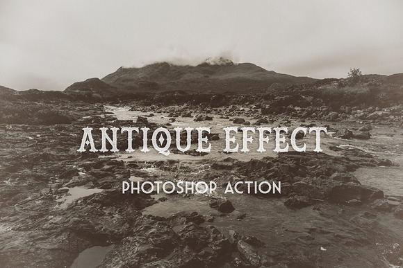Antique Effect PS Action