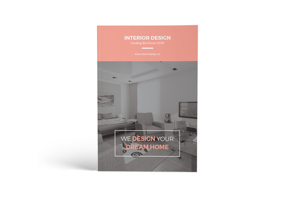 Interior Design Catalog Brochure