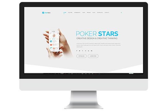 Poker Stars HTML Template