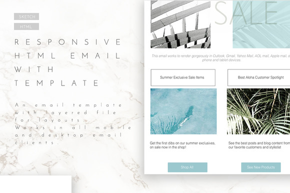 Email Template Layout With HTML