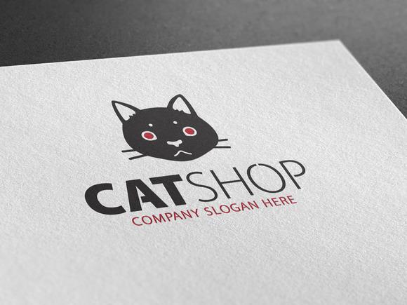 Cat Shop Logo