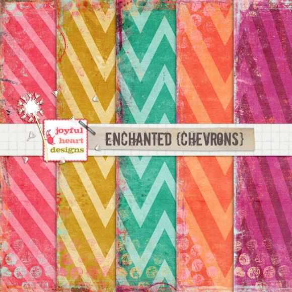 Enchanted {chevrons}