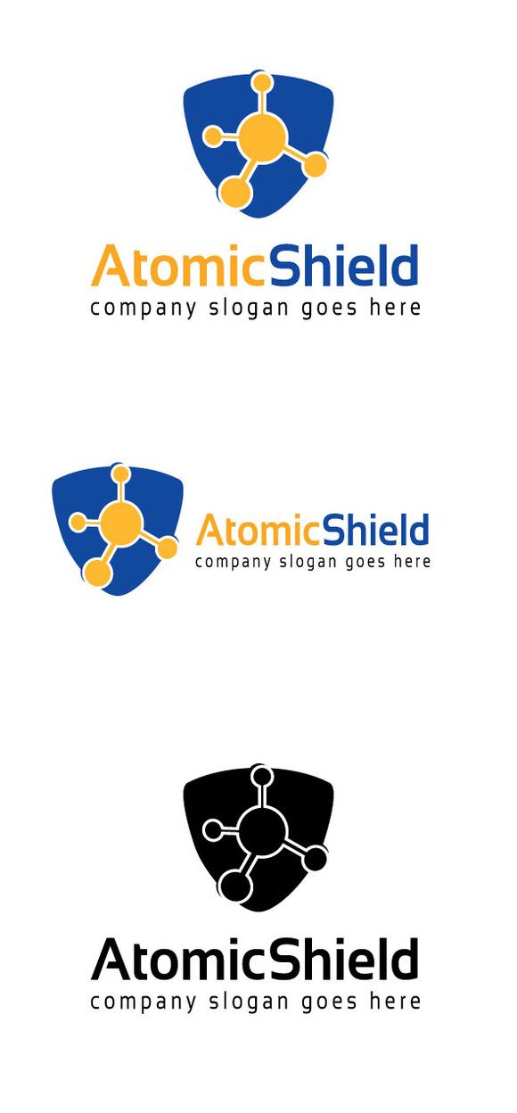 Atomic Shield Logo