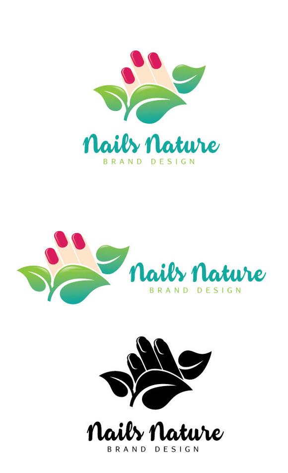 Nails Nature Logo