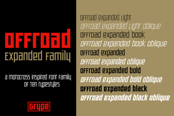 Offroad Expanded Family
