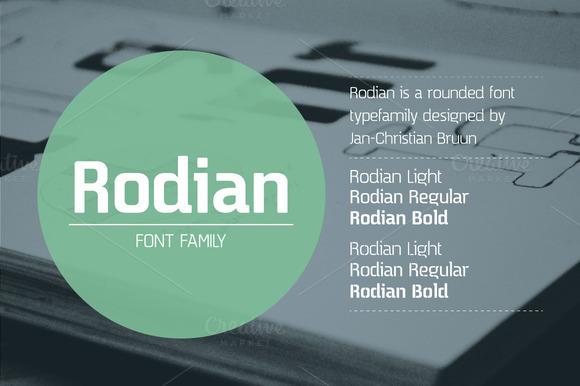 Rodian Sans