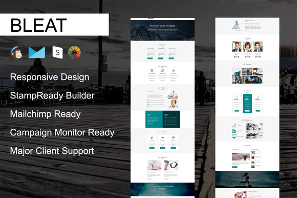 BLEAT Responsive Email Template