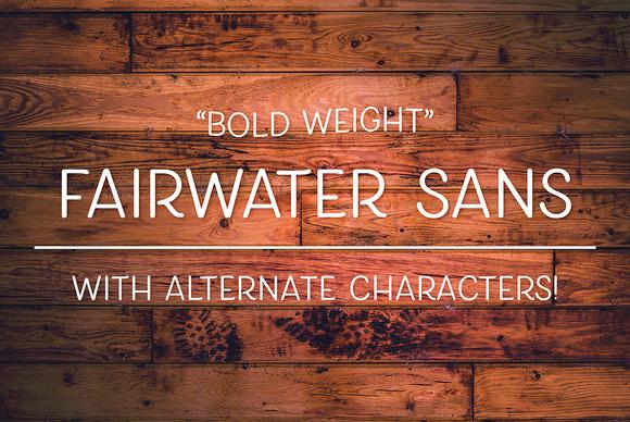 Fairwater Sans Bold