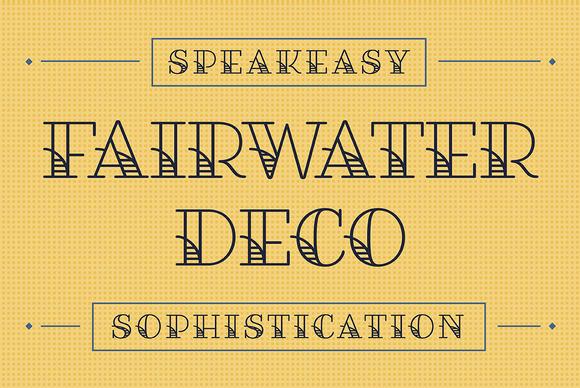 Fairwater Deco Serif