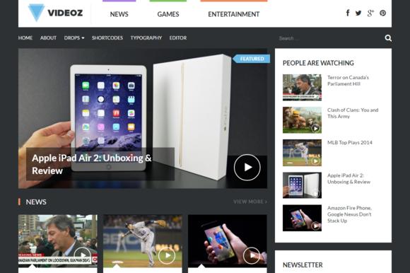 VideoZ WordPress Theme
