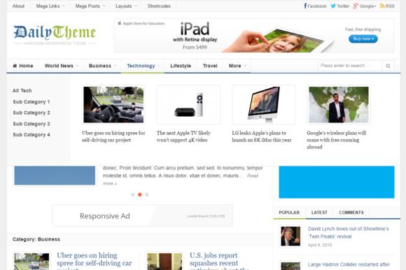 Daily WordPress Theme