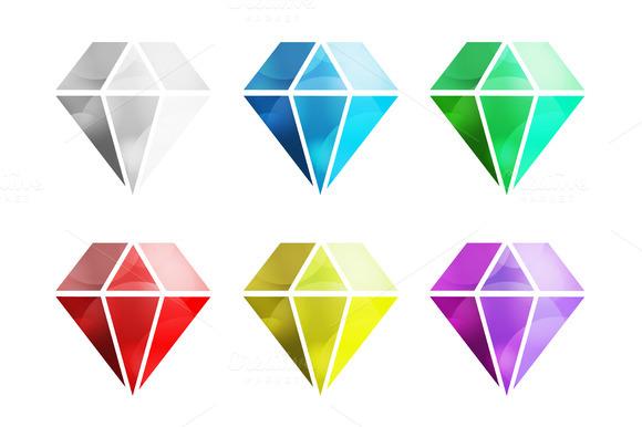 diamond shape logo 187 designtube creative design content