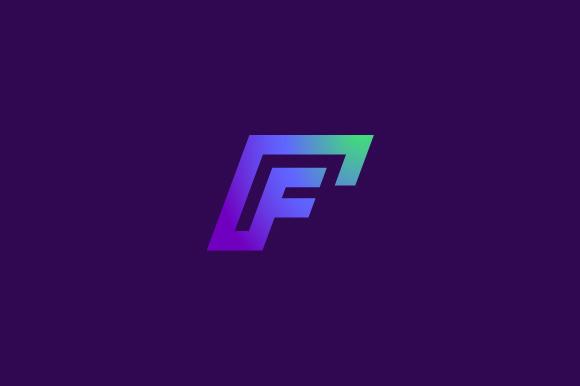 Cool Letter F Designs High Tech Hud Shapes V...