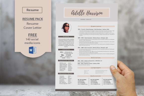 Cover page for resume examples