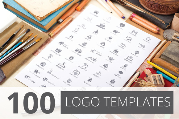 100 Logos Templates