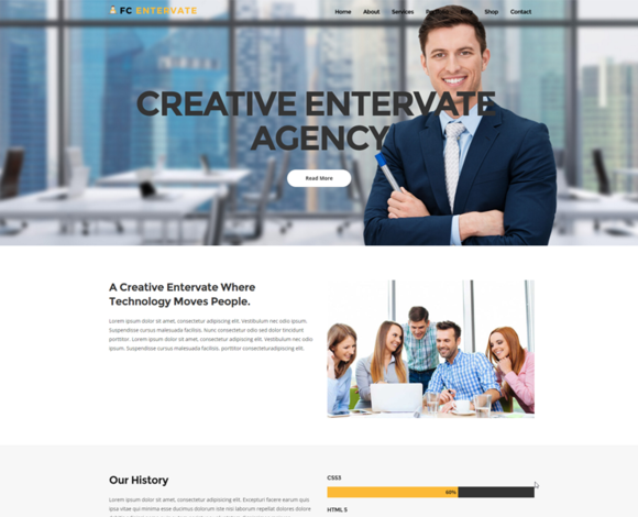 FC Entervate Business Template