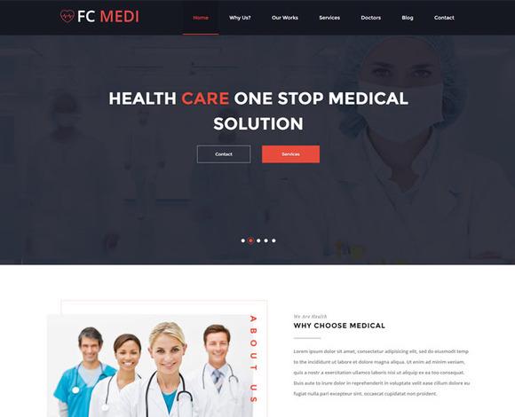 FC MEDI Bootstrap Template