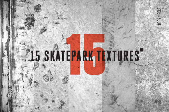 15 Skatepark Jpeg Textures B