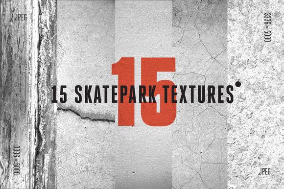 15 Skatepark Jpeg Textures C