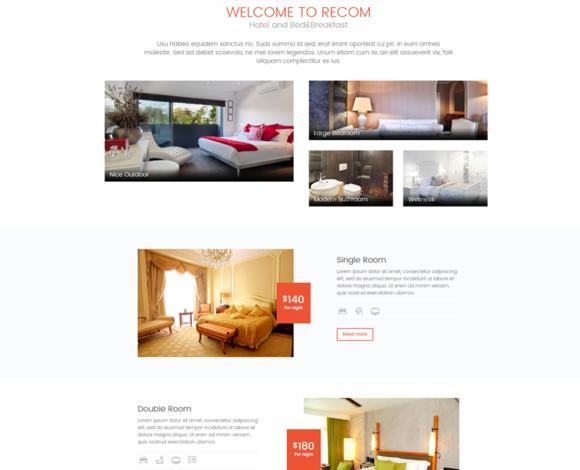 FC RECOM Hotel Template