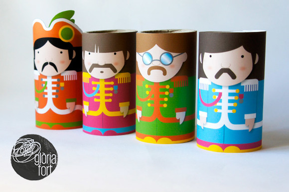 The Beatles Paper Games