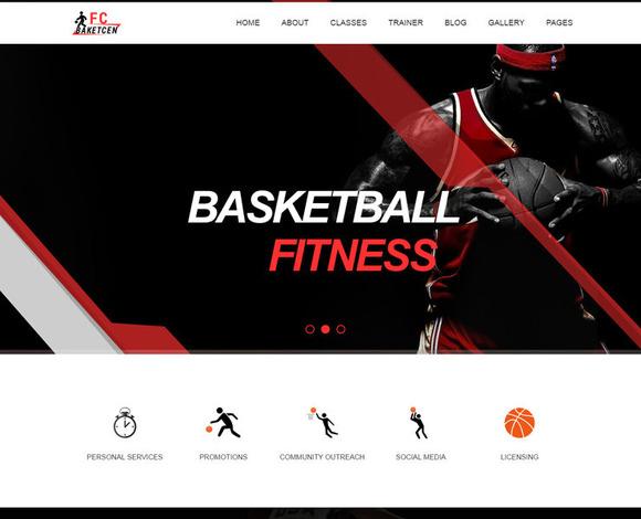 FC BAKECEN Basketball Template