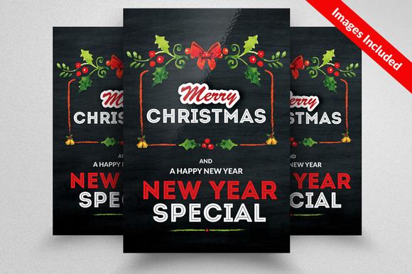 free chalkboard flyer template designtube creative design content. Black Bedroom Furniture Sets. Home Design Ideas