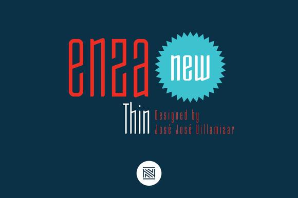Enza Thin Intro 60% Off