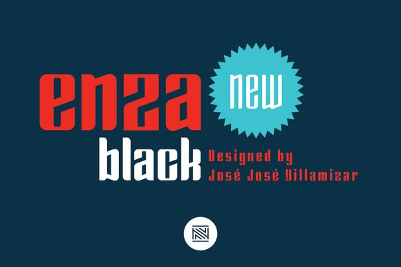 Enza Black Intro 60% Off