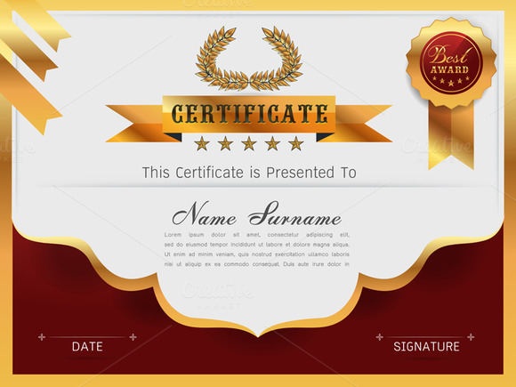 Blank doctorate degree certificate designtube creative for Phd degree certificate template