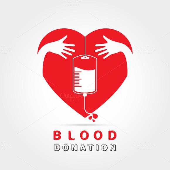 Logotype Blood Donation