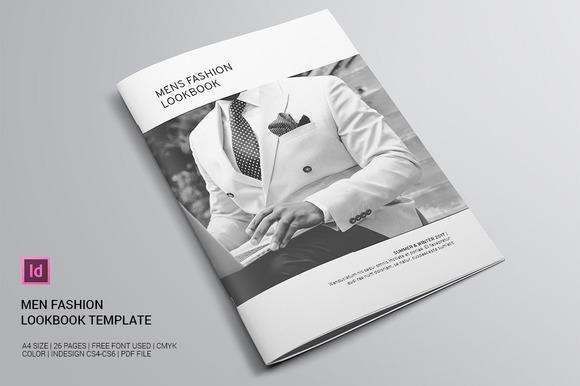Lookbook fashion template indd free download designtube for Fashion brochure templates