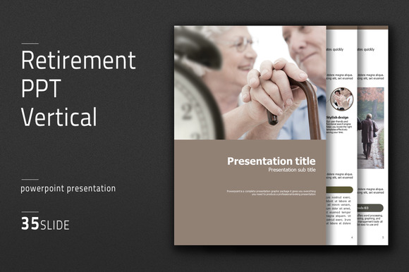 Retirement Powerpoint Template