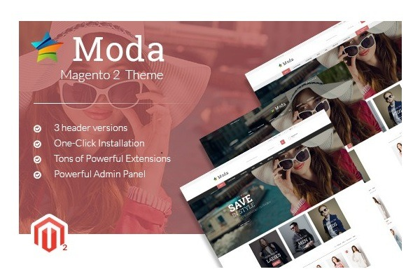 MGS Moda Magento 2 Fashion Theme