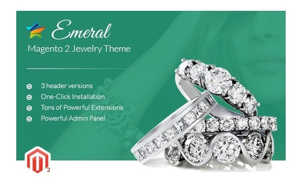 MGS Emeral Magento 2 Jewelry Theme