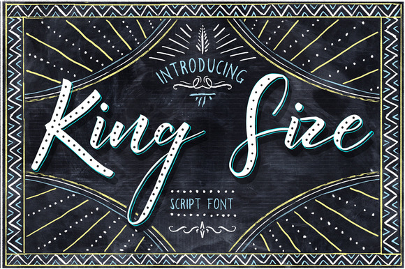 50% OFF King Size Font