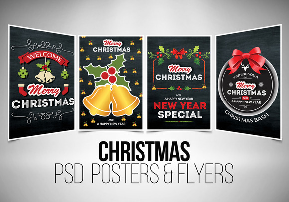 Free Chalkboard Flyer Template u00bb Designtube - Creative Design Content