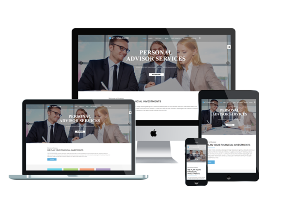AT FINANSOR-Onepage Joomla Template