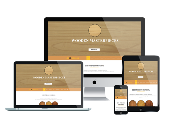 AT WOODUS Onepage Joomla Template