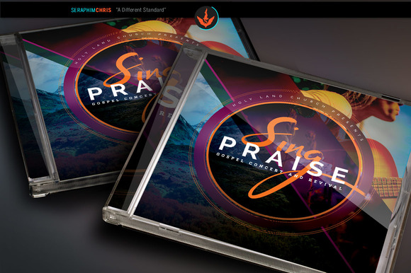 Sing Praise CD Artwork Template