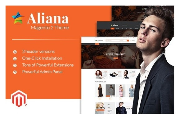 MGS Aliana M2 Multipurpose Theme