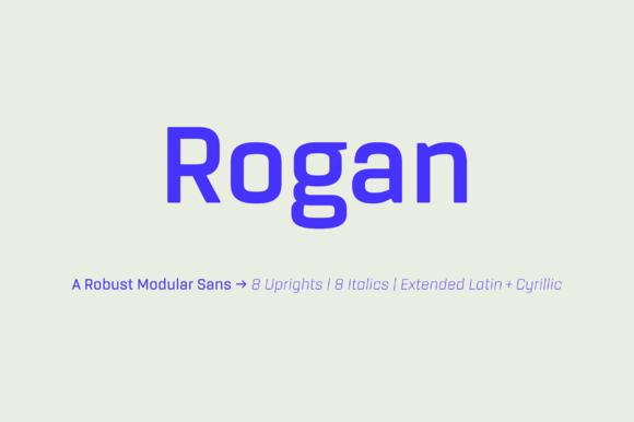 Rogan Font Family