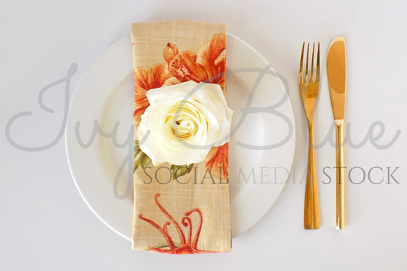 Floral Dinner Collection 6