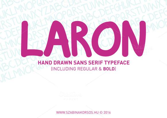 Laron Handwritten Font