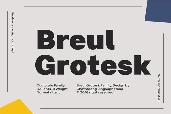 Bruel Grotesk